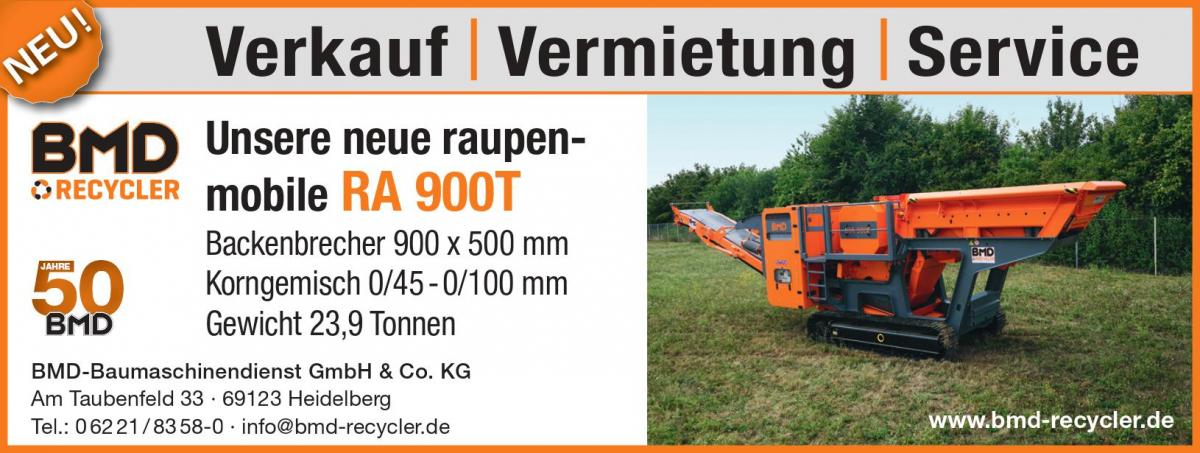 Unsere neue raupenmobile RA 900T