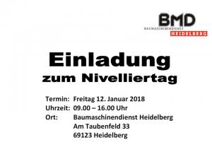 Nivelliertag BMD