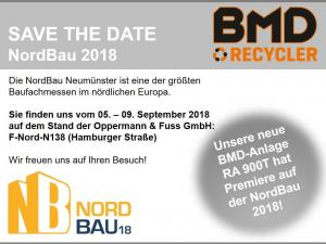 Save the Date NordBau 18